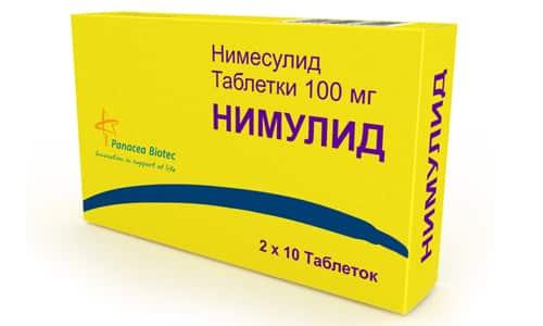 Нимулид: инструкция по применению таблеток и для чего они нужны, цена, отзывы, аналоги