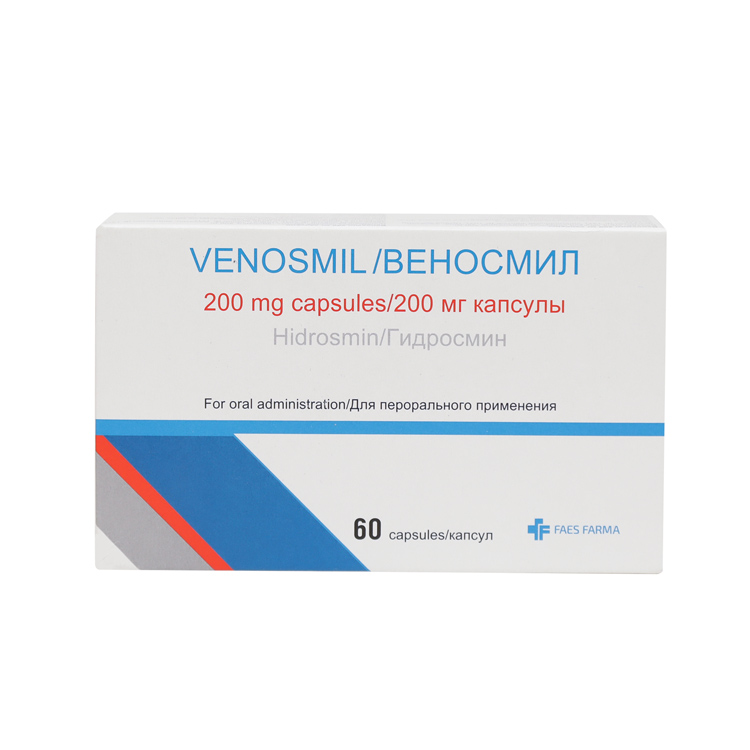 Лечение варикоза препаратом веносмин