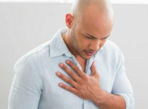 Одышка: при сердечной недостаточности, причины, лечение
