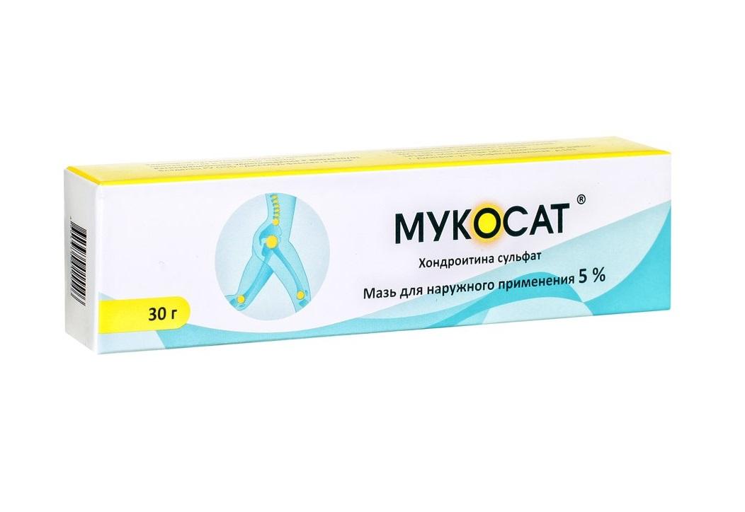 Мукосат – препарат для восстановления хрящевой ткани
