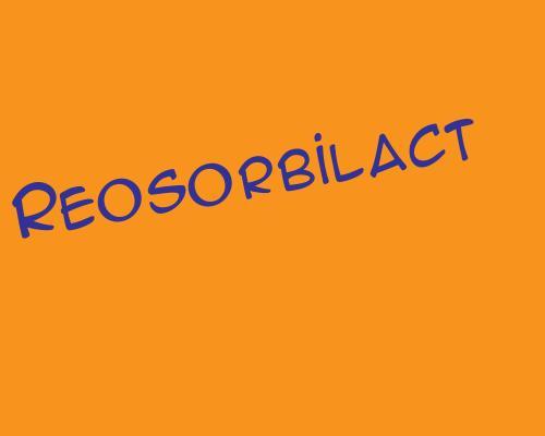 Реосорбилакт - инструкция по применению, 1 аналог