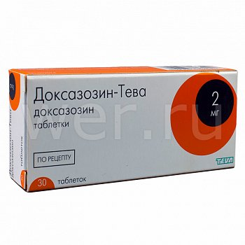 Доксазозин — инструкция по применению, цена, отзывы и аналоги