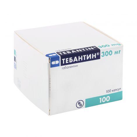 Тебантин – инструкция по применению, показания, дозы