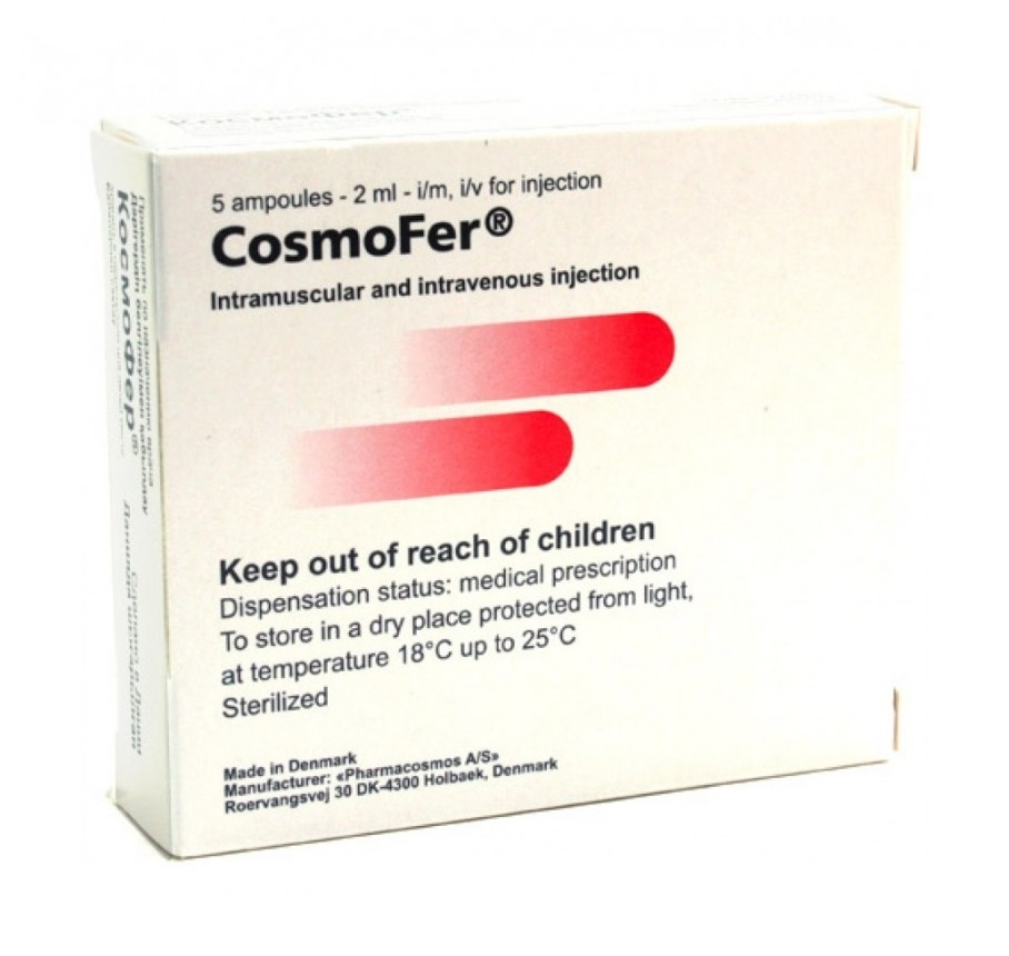 Космофер - реальные отзывы принимавших, возможные побочные эффекты и аналоги