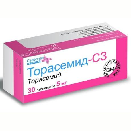 Торасемид: инструкция по применению, аналоги и отзывы, цены в аптеках россии
