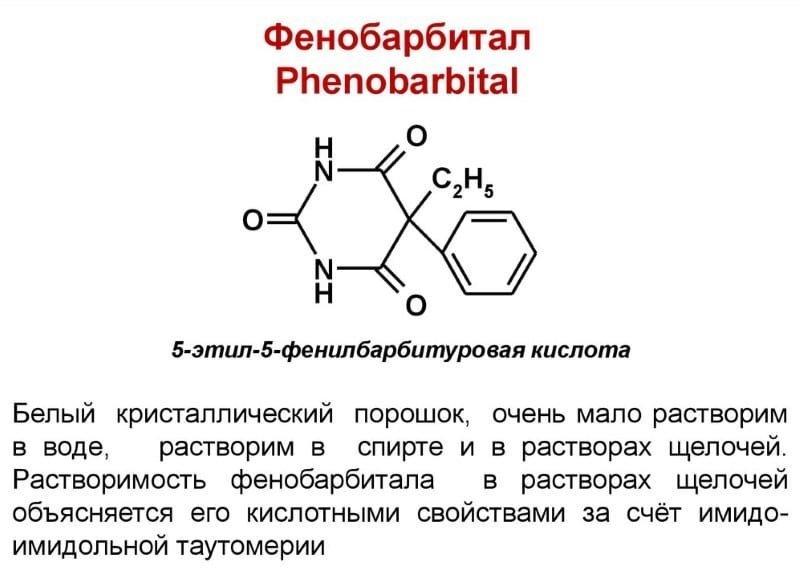 Аналог таблеток фенобарбитал