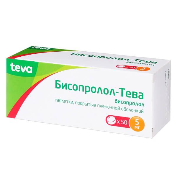 Таблетки бисопролол: инструкция, цена, отзывы и аналоги
