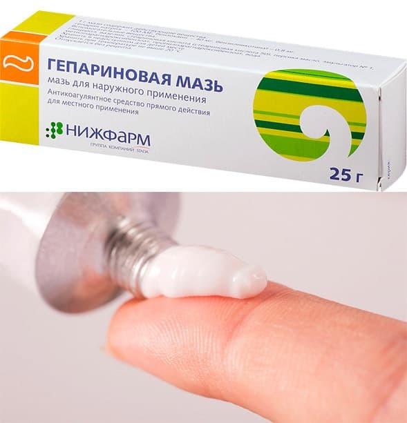 Гепарин гель фармтехнология инструкция по применению