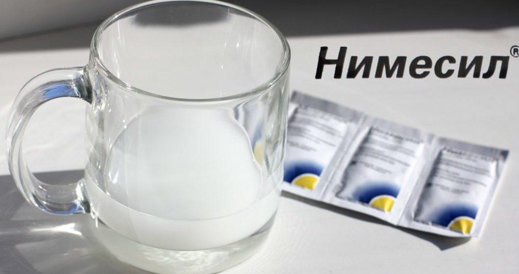 Нимесил — эффективное обезболивающее при остеохондрозе