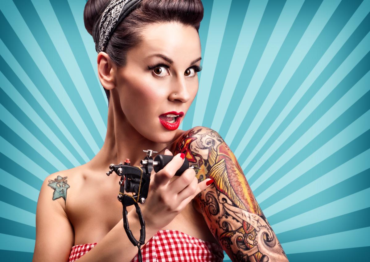 Множественные татуировки помогают укрепить иммунитет - ученые