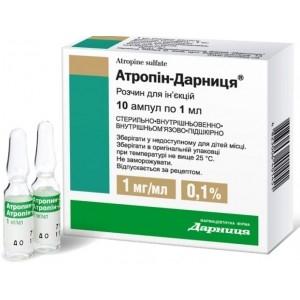 Инструкция по применению и цена атропин