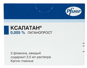 «ксалатан» (глазные капли): инструкция, цена, отзывы