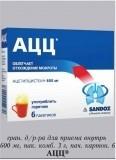 Ацетилцистеин - инструкция, аналоги, применение
