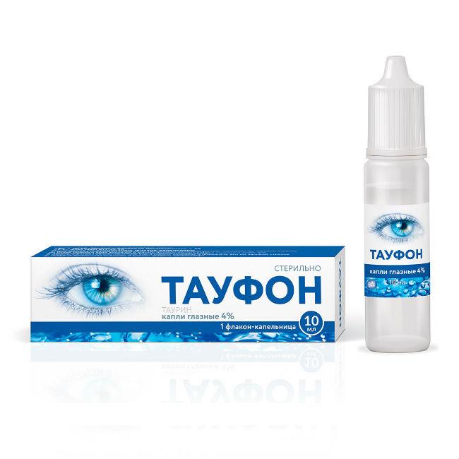 Тауфон, глазные капли 4% , 10 мл*