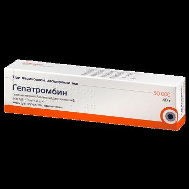 Гепатромбин c гель: инструкция по применению