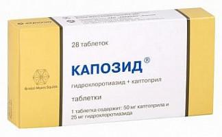 Таблетки от давления капотен: инструкция по применению, цена, отзывы, аналоги