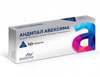 Как и для чего применять андипал: от чего этот препарат, инструкция к его применению и цена таблеток