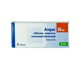 Аторис таблетки: инструкция по применению, побочные действия, аналоги, цена, отзывы