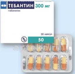 Тебантин: инструкция по применению, показания, цена