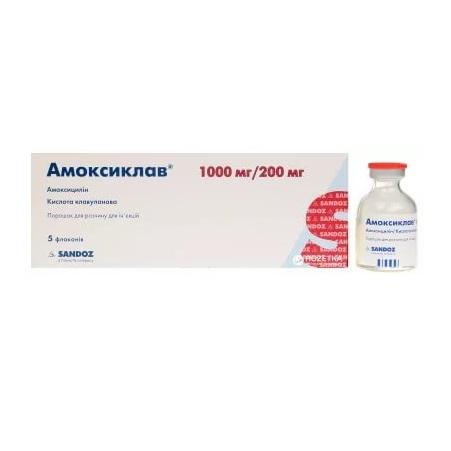 Амоклав — 1000, таблетки