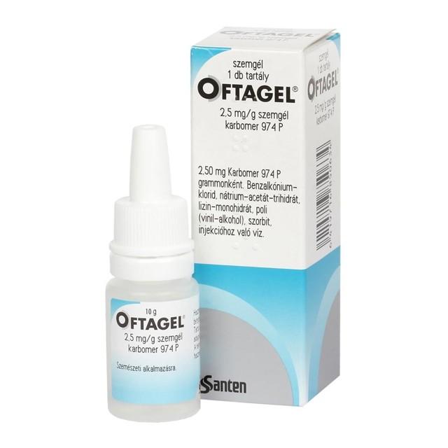 Особенности применения глазных капель офтагель