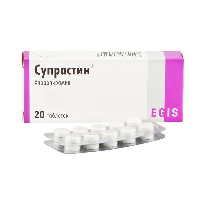 Растворсупрастин: инструкция по применению 20 мг/мл