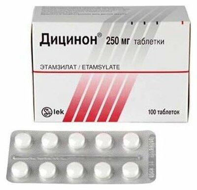 Дицинон: инструкция по применению, аналоги и отзывы, цены в аптеках россии
