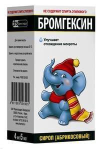 Бромгексин 8 берлин – хеми, инструкция по применению