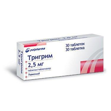 Тригрим 5 \ 10 мг – инструкция к препарату, цена, аналоги и отзывы о применении