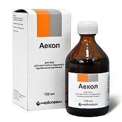 Аекол - инструкция по применению масляного раствора, аналоги и цена