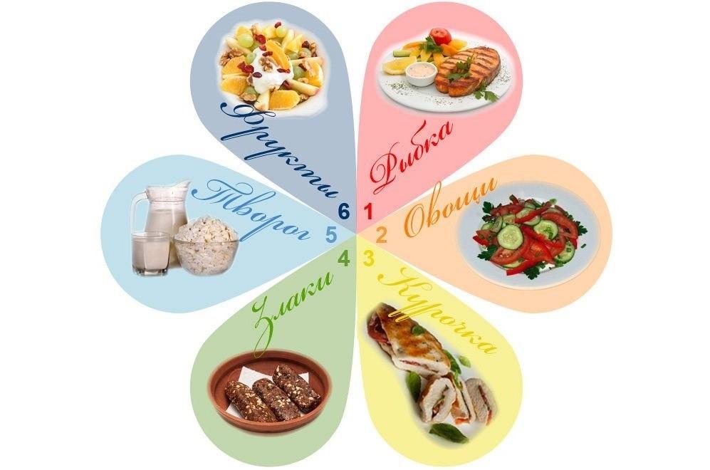 Меню на каждый день эффективной для похудения диеты 6 лепестков, отзывы и результаты похудевших