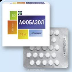 Афобазол - инструкция по применению