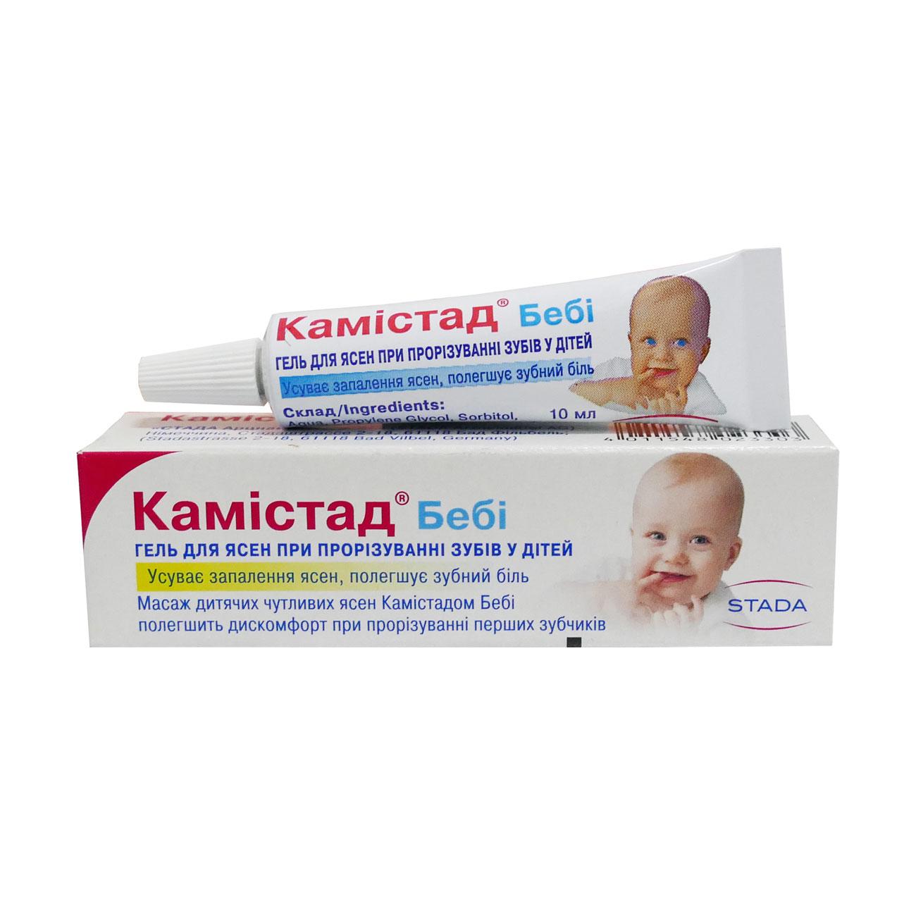 Камистад-гель н – инструкция, показания, способ применения при воспалениях во рту