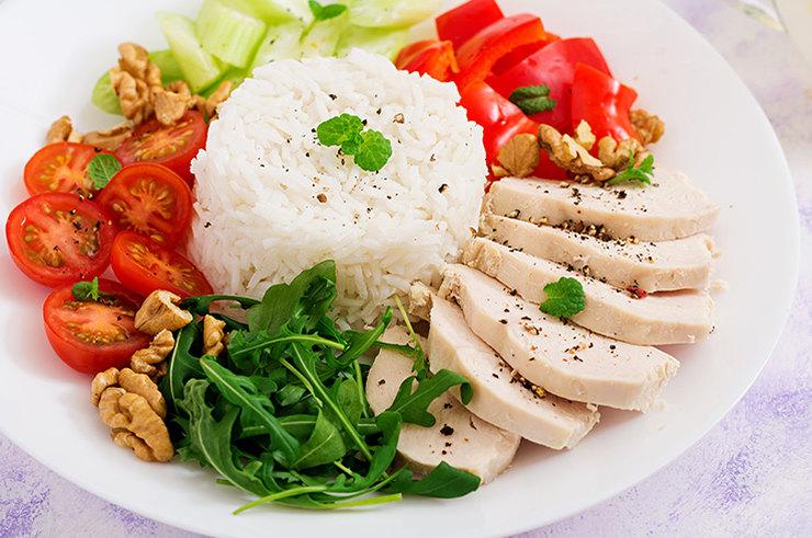 Какой рис использовать при диете королевой