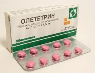 Олететрин - инструкция