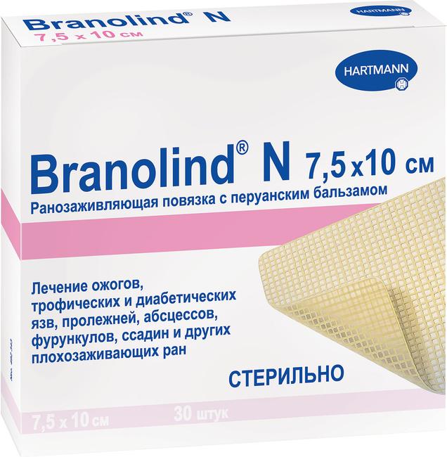 Бранолинд н. инструкция по применению, мазевая повязка с перуанским бальзамом. цена, отзывы