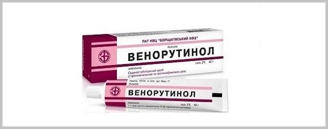Правила применения таблеток и геля венорутон