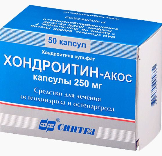 Применение таблеток хондроитин для лечения суставов
