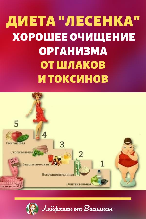 Эффективные Диеты Для Похудения Лесенка.