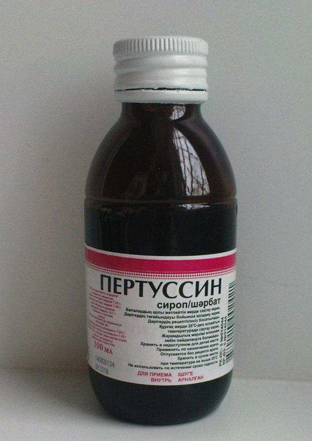 Пертуссин – доступный и натуральный препарат при сухом кашле