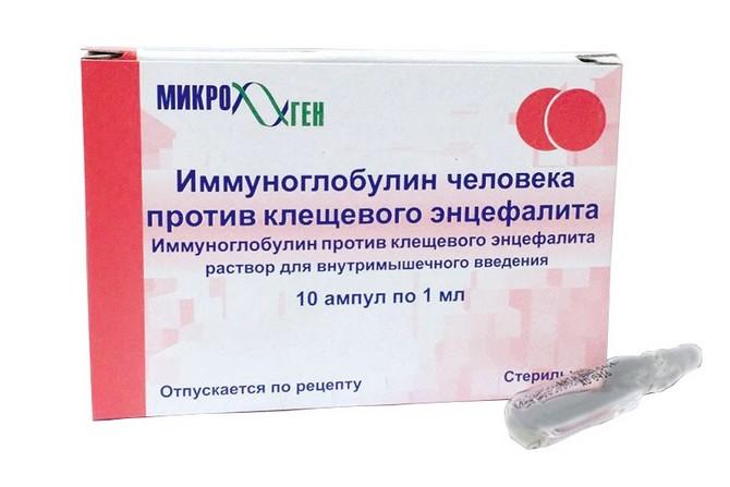 Противоклещевой иммуноглобулин – инструкция по применению вакцины
