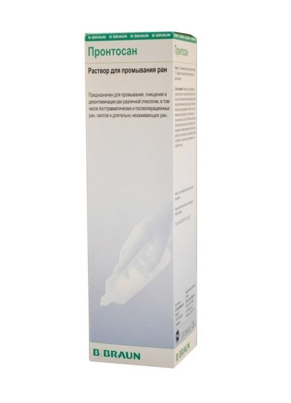 Правила применения геля пронтосан для заживления ран