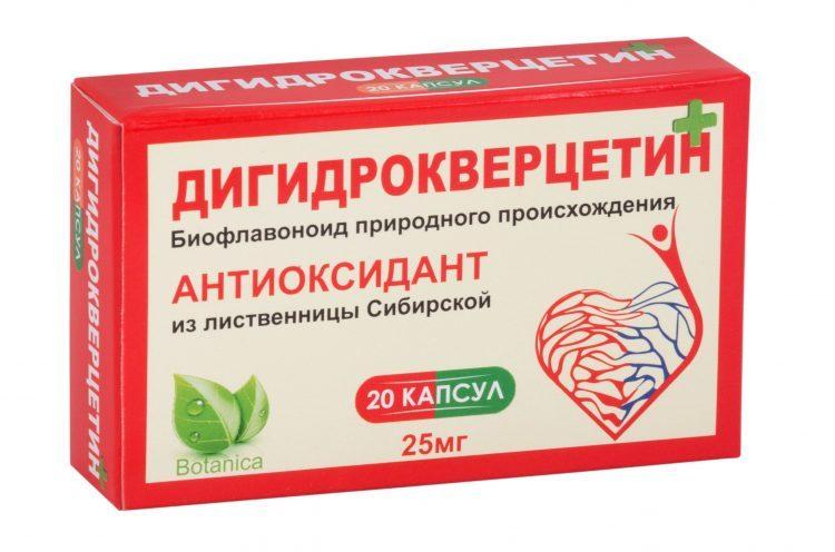 Дигидрокверцетин: польза и правила применения
