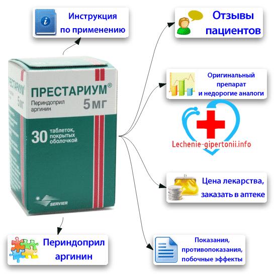 Престариум: инструкция по применению, аналоги и отзывы, цены в аптеках россии