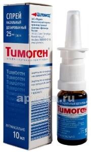 Тимоген спрей: инструкция по применению