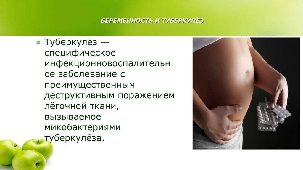 Ведение беременности и родов при туберкулёзе