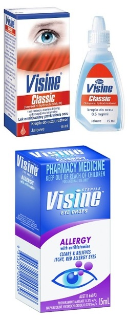 Визин глазные капли: инструкция по применению, аналоги и отзывы, цены в аптеках россии