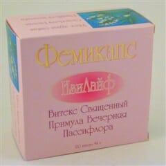 Препарат фемикапс — инструкция по применению для женщин