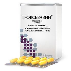 Троксевазин таблетки, отзывы, инструкция по применению, цена, эффективность