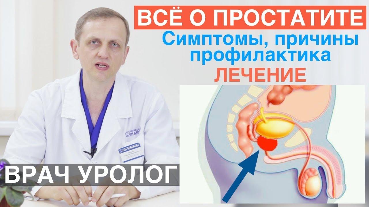 Воспаление предстательной железы: симптомы и лечение